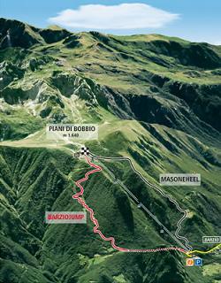 Arriva il bike park ai piani di bobbio montagna tv for Piani mensili in montagna