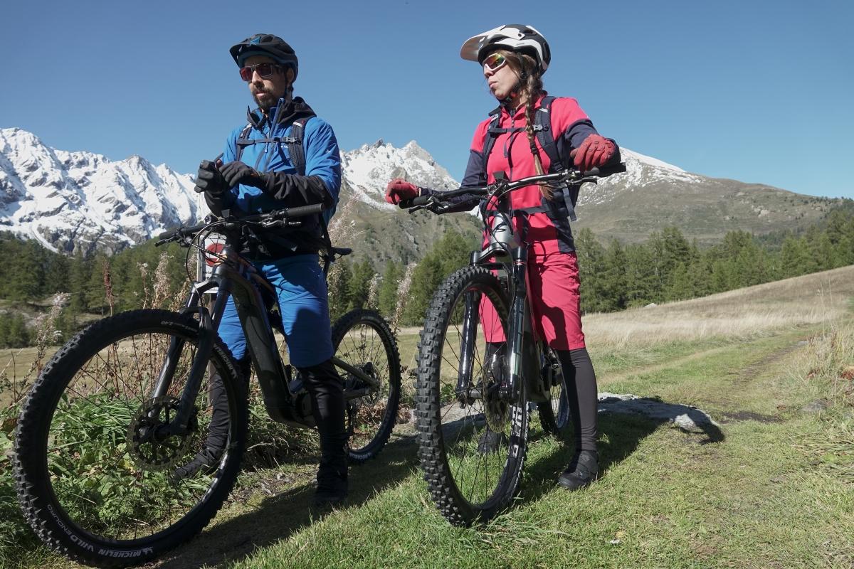 Alla scoperta di La Thuile in sella alla Mountain Bike elettrica - Video tutorial e-bike - Puntata 1