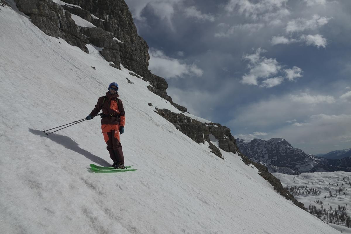 Tra le Dolomiti di Brenta per scoprire lo sci ripido - Video Tutorial sci ripido - Episodio 1