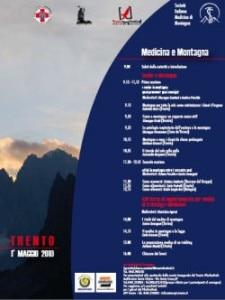 Trento, locandina del convegno anziani e montagna