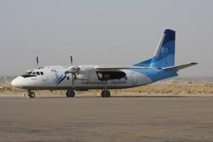 L'Antonov 24 della Pamir Airlines