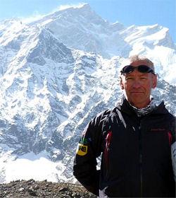Piotr Pustelnik in Himalaya