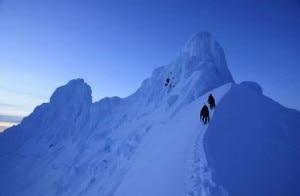 la cima del Sarmiento