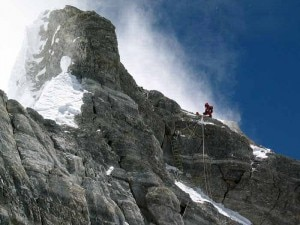 Everest parete Nord: il Second Step