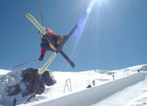 Sciare d'estate a Cervinia