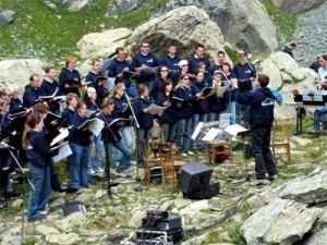 Concerto in quota I suoni delle dolomiti
