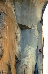 Alex Honnold sul Nose di El Capitan