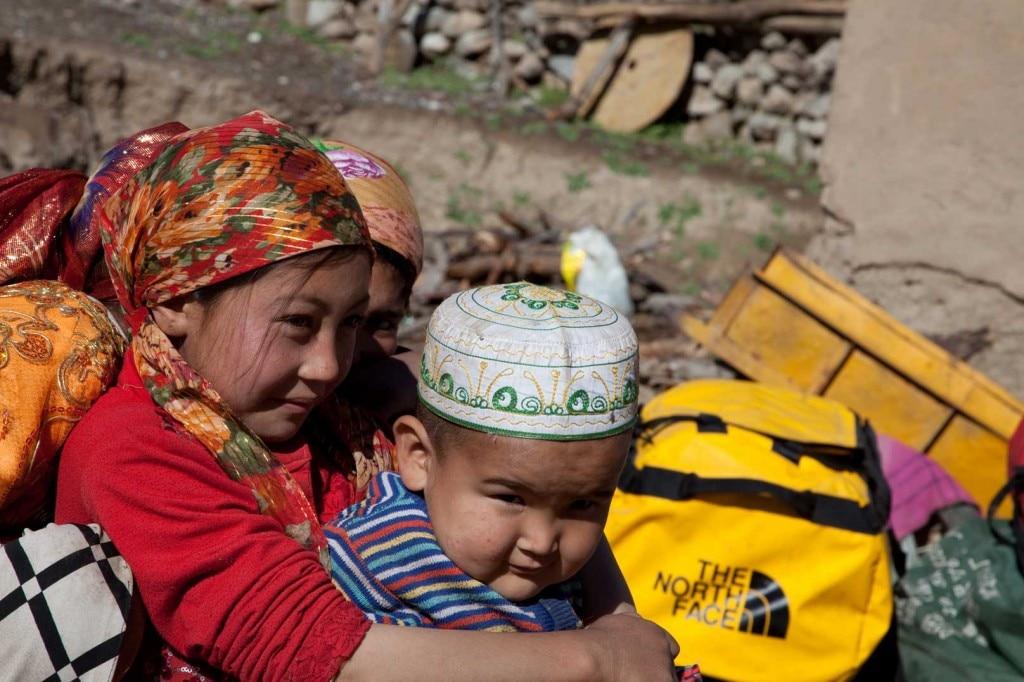 Ilika, inizio del trekking verso la Nord del GI. (Photo H. Barmasse)
