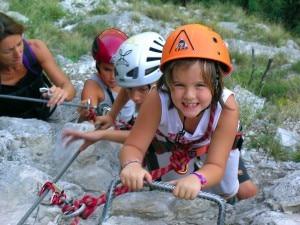 arrampicata per bambini