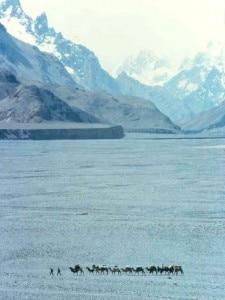 1983. Carovane di cammelli a Ilika