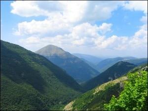 Il parco dei Monti Sibillini