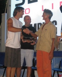 Chris Sharma premia Manolo