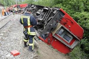 Il deragliamento del treno