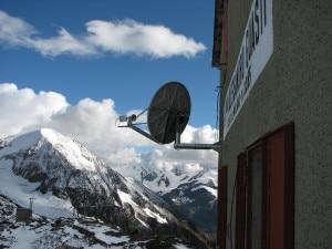 L'antenna satellitare