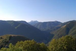 Massiccio del Terminillo visto da Monte Tilia Photo Alessandro Risa