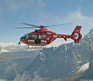L'elicottero di soccorso
