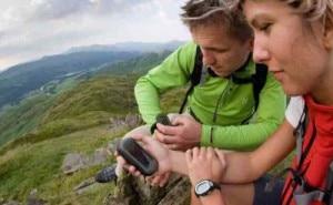trekking con il gps