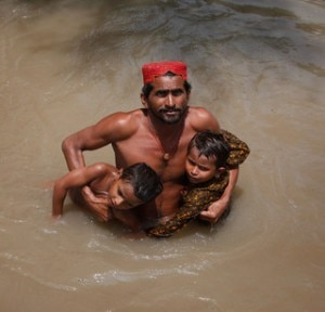 L'alluvione in Pakistan