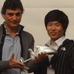 Scarpetta d'argento - Piolet d'or Asia 2010