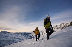Hervè e Marco Barmasse sul Cervino (Foto Damiano Levati/The North Face)