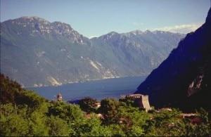 La zona del castello di Tenno