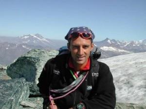 Davide Chiesa (Photo Montini courtesy of Comunicamontagna.it)