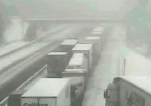 I camion fermi in coda