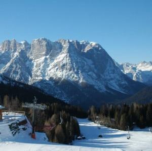 Il comprensorio sciistico del Monte Agudo (Photo auronzodinverno.com)