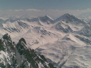 Le Alpi viste da Punta Helbronner