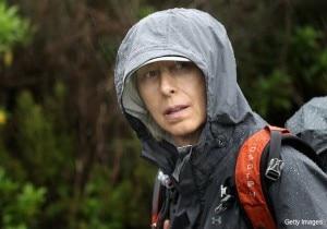Martina Navratilova Mt. Kilimanjaro Climb Day One (Photo courtesy Laureus Sport for Good Foundation)