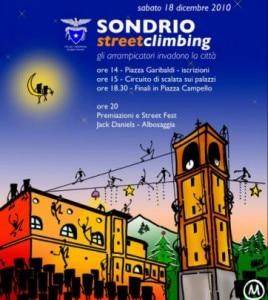 Sondrio Streetclimbing 2010