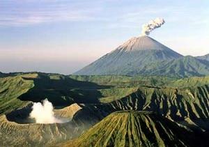 L'eruzione del Bromo