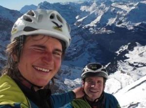 Simon Gietl e Roger Schali (Photo Simon Gietl)