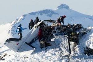 L'incidente aereo sul Weisshorn