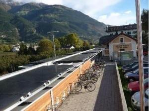 Pannelli solari alla stazione di Coldrano, Val Venosta