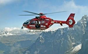 L'elicottero dell'Aiut Alpin
