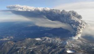 Il vulcano Shinmoedake
