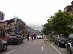 La devastazione a Christchurch