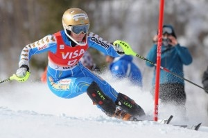 La svedese in azione