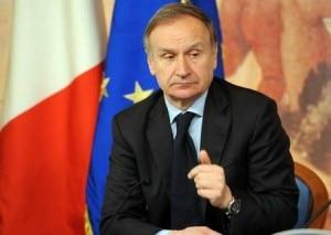 Il presidente del Coni Gianni Petrucci