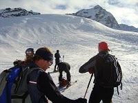 Sciatori in Val di Fleres