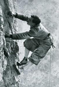 Emilio Comici - Tavola 34 - Lo Stile di Comici in arrampicata libera