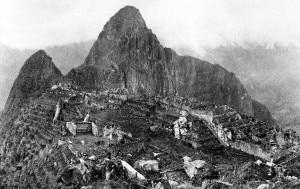 Machu Picchu, nel 1911