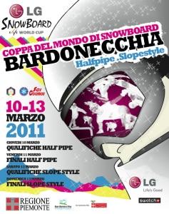 Locandina - LG Snowboard Fis World Cup a Bardonecchia
