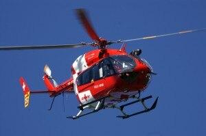 L'elicottero della Rega