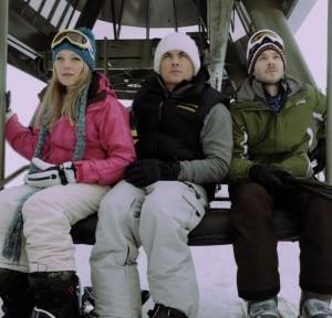 I tre protagonisti in una scena di Frozen