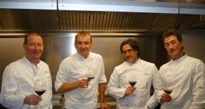Da sinistra: Andrea Tonola, Mauro Salini, Stefano Masanti e Marino Lanfredini.