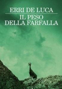"""La copertina del libro """"Il Peso della farfalla"""""""
