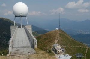 Il radar del Monte Lema