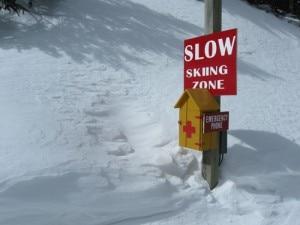 Area di slow ski
